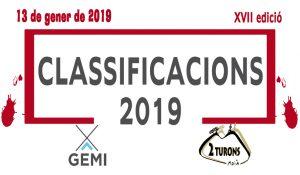 CLASSIFIC 2019