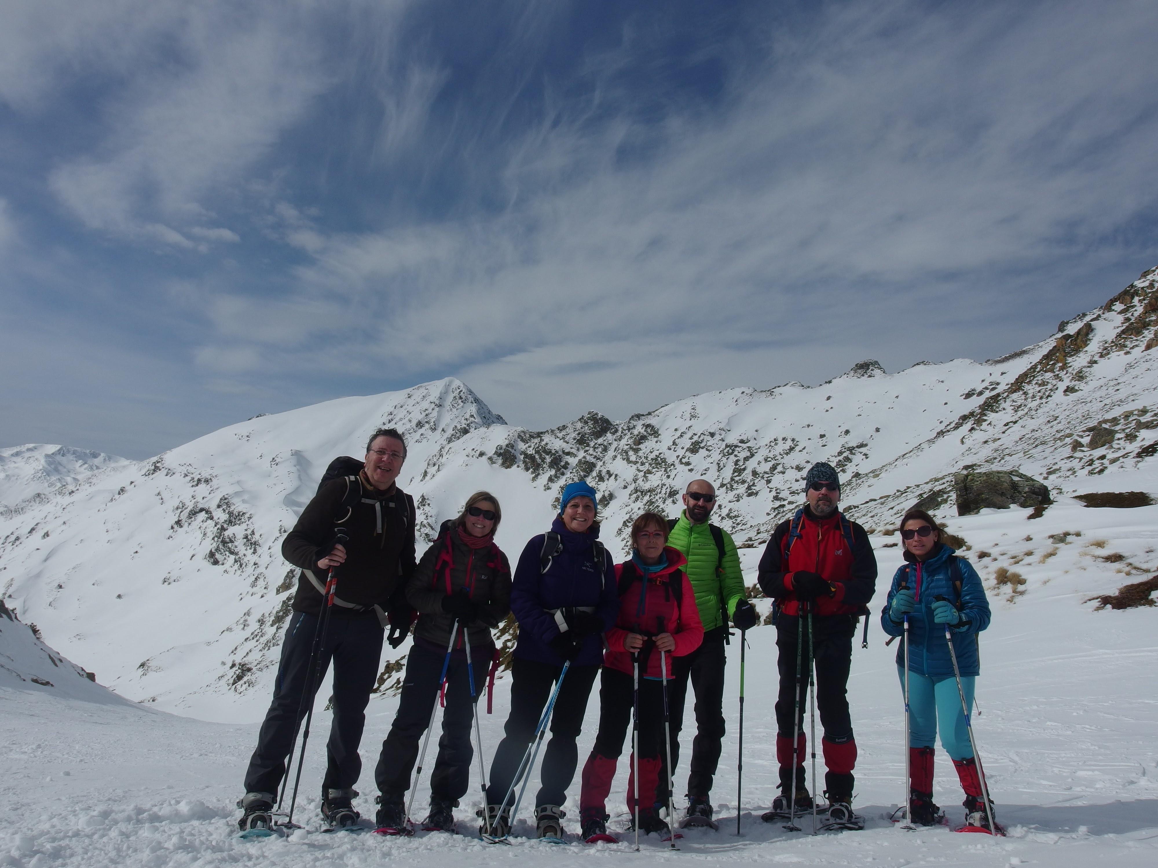 Esquiada raquetada a port puymorens 11 febrer 2017 gemi for Porte puymorens